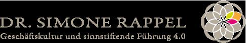 Dr. Simone Rappel - Geschäftskultur und sinnstiftende Führung 4.0