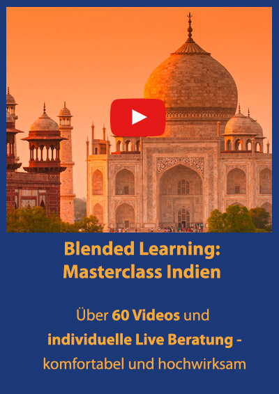 Masterclass Indien - Blended Learning